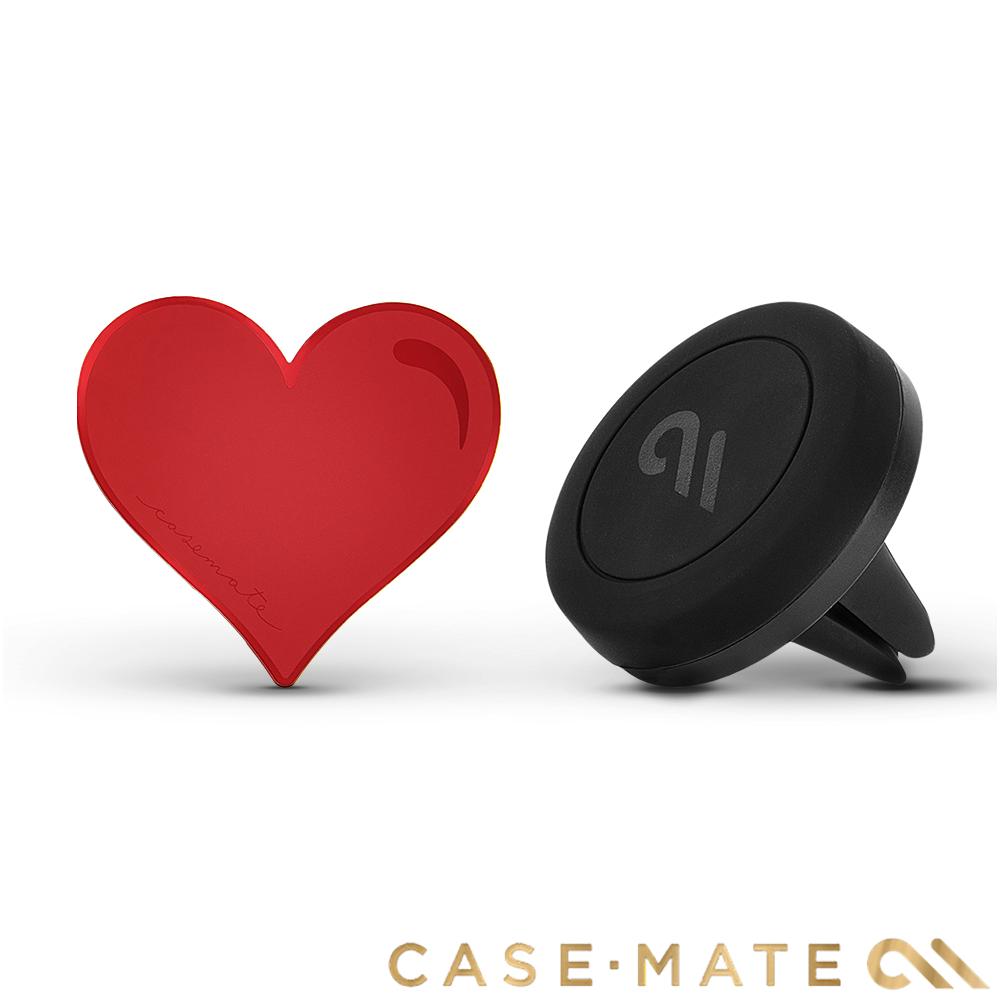 美國 Case-Mate 強力磁吸式手機車架組 - 紅心造型貼片 @ Y!購物