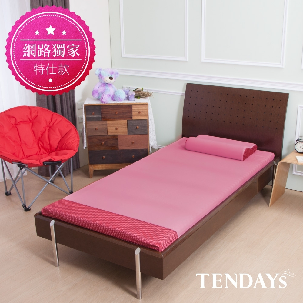 DISCOVERY柔眠床墊 標準單人3尺 5.5cm厚_乾燥玫瑰