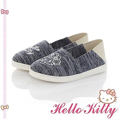 HelloKitty親子鞋-不對稱輕量懶人童鞋-藍