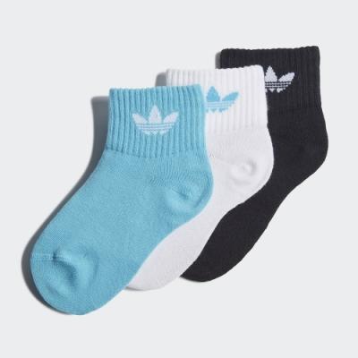adidas 腳踝襪 3 雙入 男童/女童 GN3233