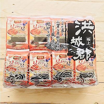 洪城郡 岩烤海苔-泡菜風味(4gx16入)
