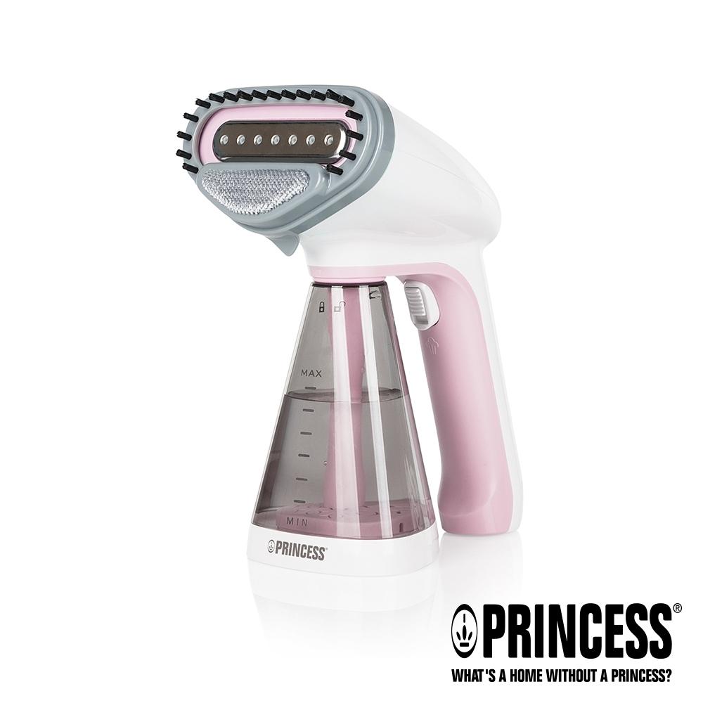 PRINCESS荷蘭公主手持式蒸氣掛燙機-櫻花粉332846P