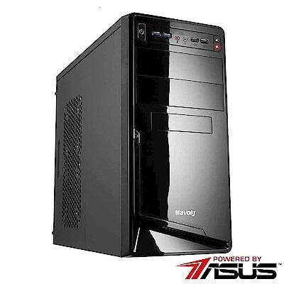 華碩B450平台[豔陽劍客]R5六核GT710獨顯電玩機