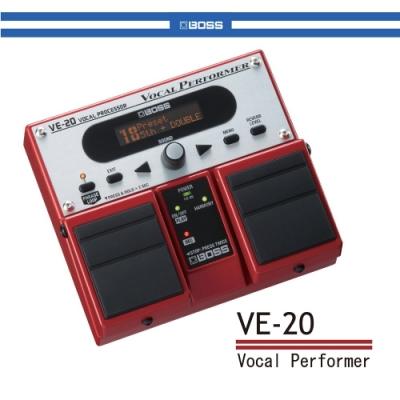 BOSS VE-20人聲效果器/贈導線/公司貨保固