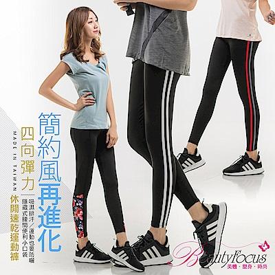 [好康限定款]MIT-休閒速乾運動褲BeautyFocus