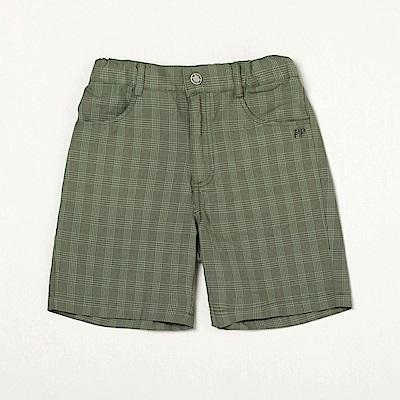 PIPPY 舒適棉麻短褲 綠