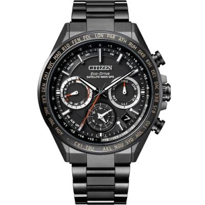 CITIZEN 星辰 限量GPS衛星對時光動能手錶(CC4014-62E)44.3mm