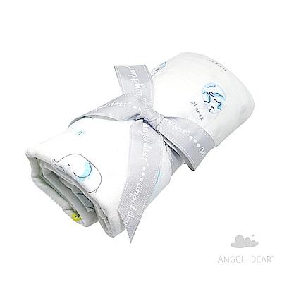美國 Angel Dear 竹纖維嬰幼兒包巾禮盒 (我愛地球)