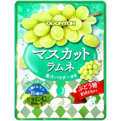 扇雀飴 白葡萄風味汽水糖(30g)