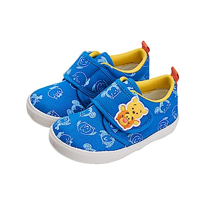 迪士尼 TsumTsum 米奇小熊維尼 學步鞋-藍