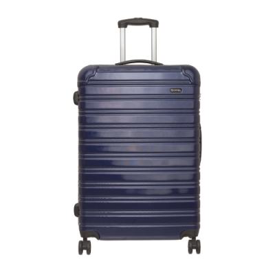 【OUTDOOR】RUSH-28吋拉鍊箱-深藍色 OD1172B28NY