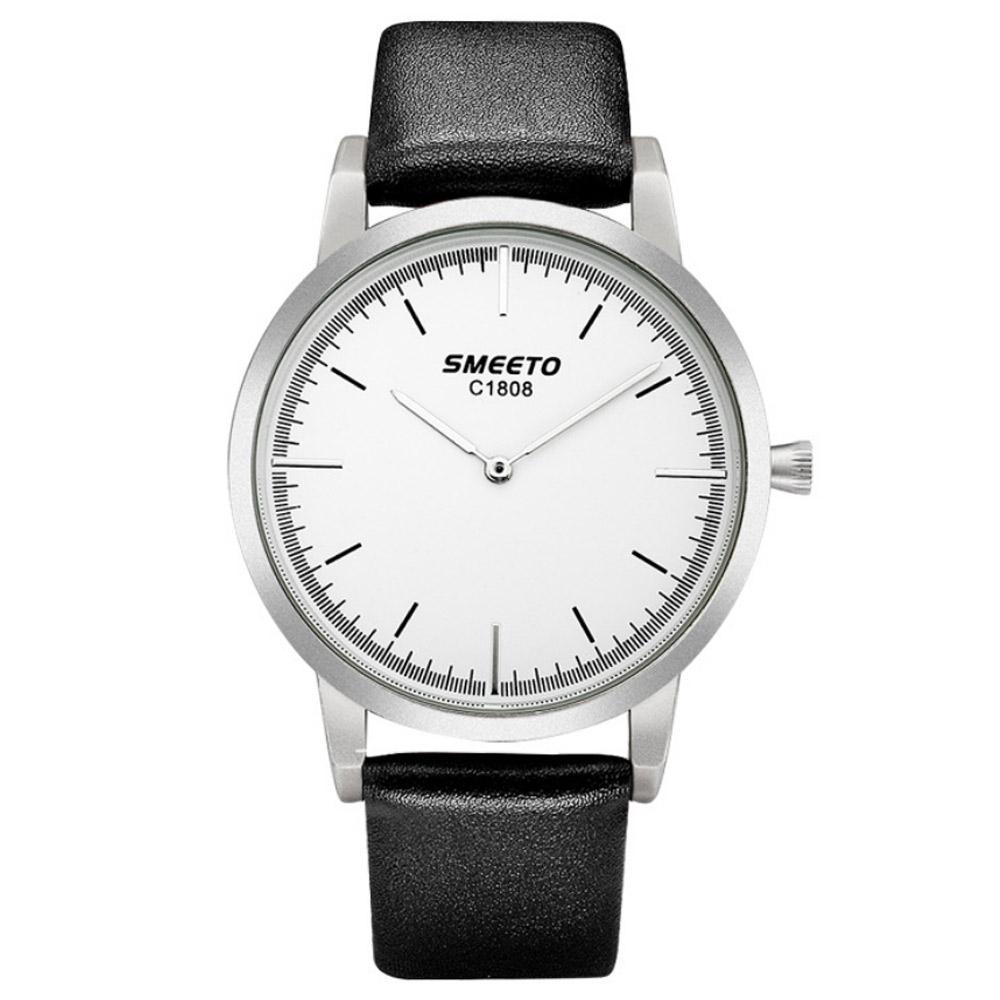 Watch-123 優雅線條元素紳士風度手錶 (4色任選) product image 1