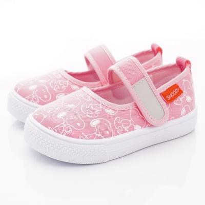 SNOOPY童鞋 史努比休閒鞋款 NI5233粉紅(中小童段)