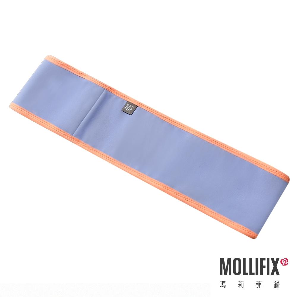 Mollifix 瑪莉菲絲 健身環狀彈力帶 (灰藍+橘)