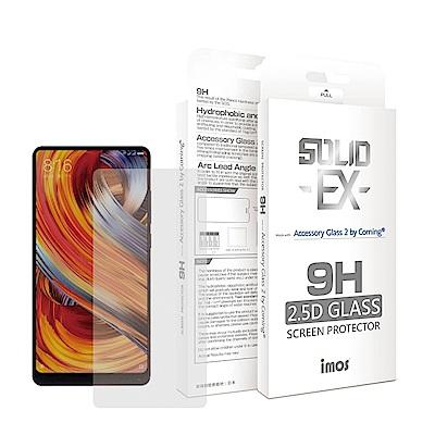 iMos 小米 Mix 2/小米 Mix 2S 2.5D 滿版玻璃 螢幕保護貼