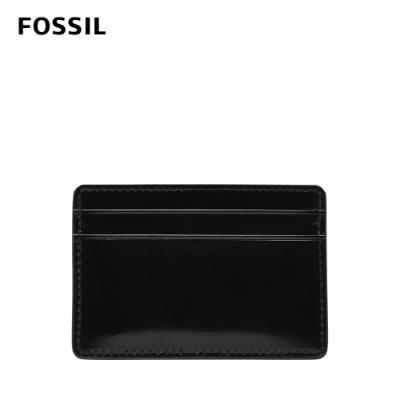 FOSSIL Benedict 亮皮質感卡夾-黑色 ML4302001