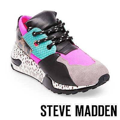 STEVE MADDEN-CLIFF潮流款拼接時尚老爹鞋-桃色