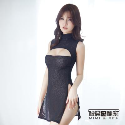 角色扮演服 時尚優雅秘書。美胸款。黑色 被窩的秘密