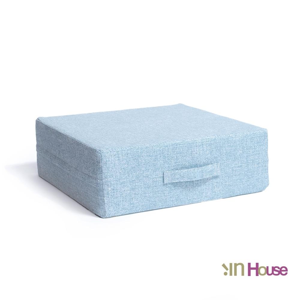 IN HOUSE-日式無壓力坐墊(方形/水藍)