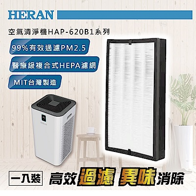 HERAN禾聯 空氣清淨機濾網 HAP-620B1系列
