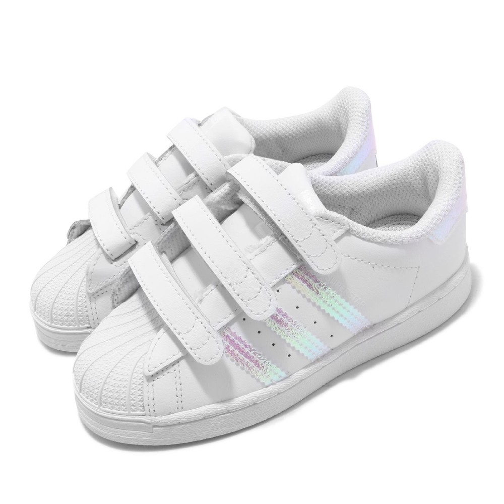 adidas 休閒鞋 Superstar CF I 復古 童鞋