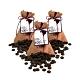 Diva Life 巴西 100%黑巧克力鈕扣(90g/包)3包裝 product thumbnail 1