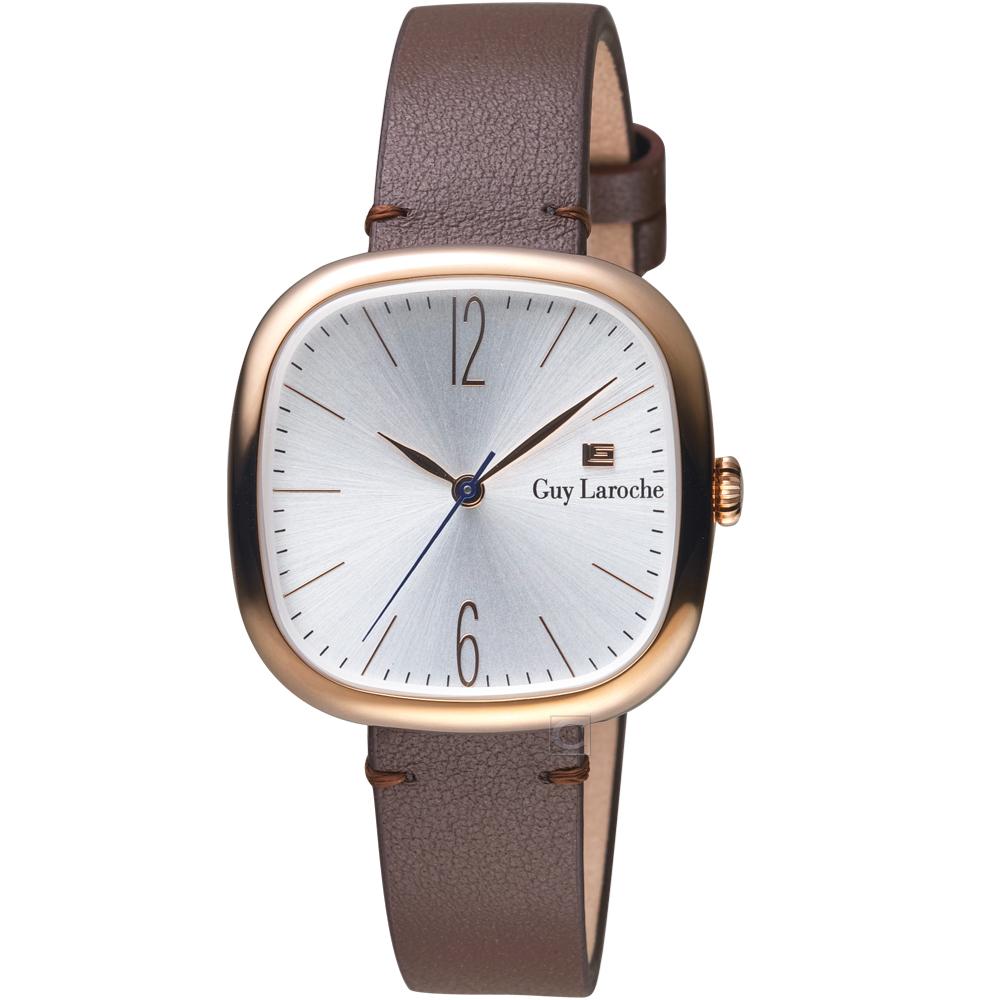 姬龍雪Guy Laroche Timepieces現代簡約時尚女錶(LW5045A-15)