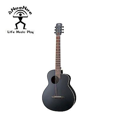 [無卡分期-12期] aNueNue ML16E 黑鳥面單電民謠黑木吉他