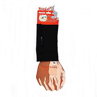 PCMAMA多用途運動手臂套手機套手腕袋手腕套Wrist Bag(黑,厚WC017;可放零錢紙鈔信用卡悠遊卡一卡通)