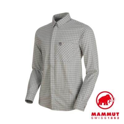 【Mammut】Winter LS 機能襯衫 花崗岩 男款 #1015-00520