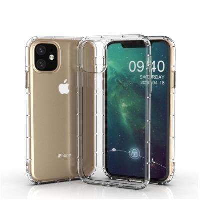 Apple 蘋果iPhone 11Pro Max6.5吋專用 氣囊防摔透明手機殼 手機背蓋