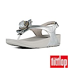 FitFlop FLORRIE PATENT BACK-STRAP-銀色