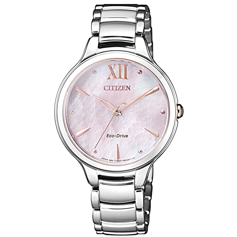 CITIZEN L系列優雅光動能時尚腕錶(EM0558-81Y)