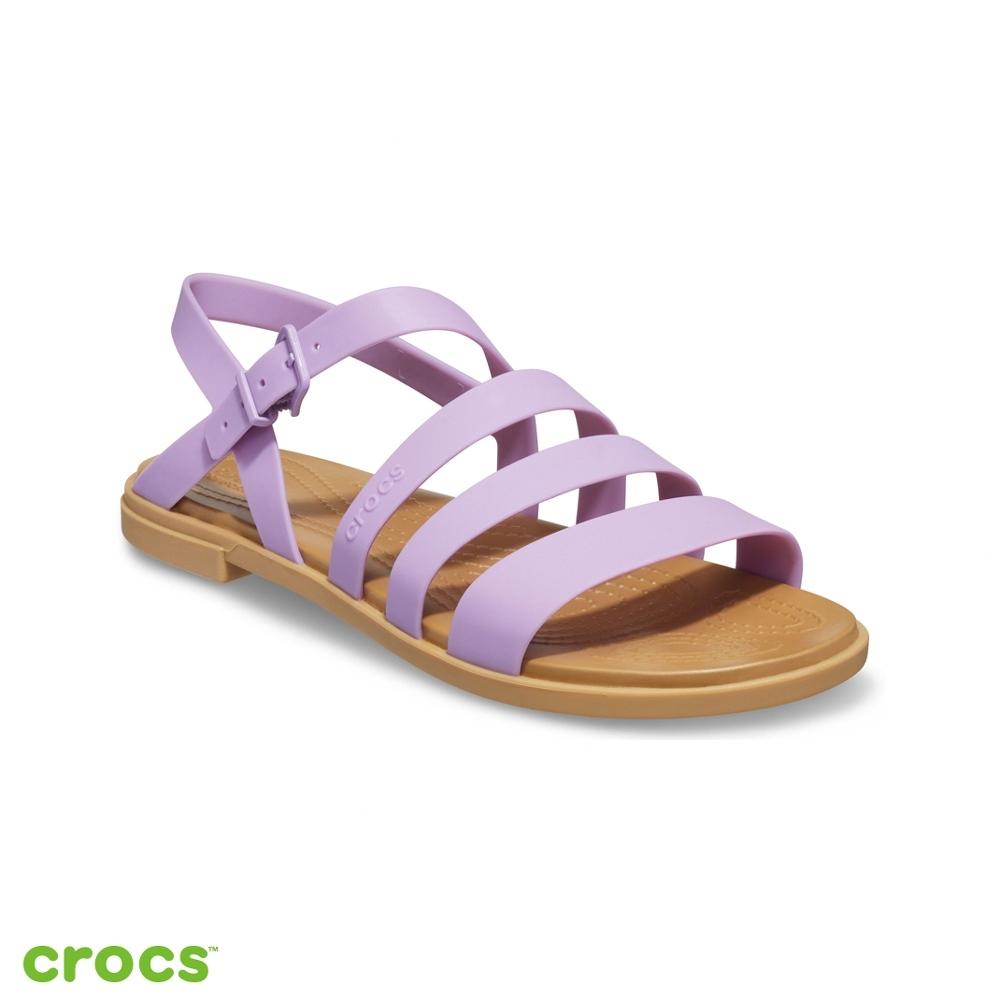 Crocs卡駱馳 (女鞋) 特蘿莉度假風女士涼鞋-206107-5PR