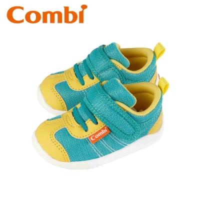 日本Combi童鞋 時尚紐約幼兒機能鞋-閃酷綠