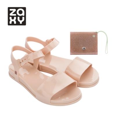 Zaxy TRENDY + WALLET FEM系列涼鞋-粉膚