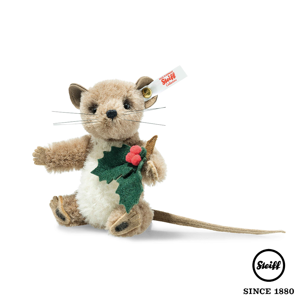 STEIFF德國金耳釦泰迪熊 老鼠 Holly Mouse(限量版)