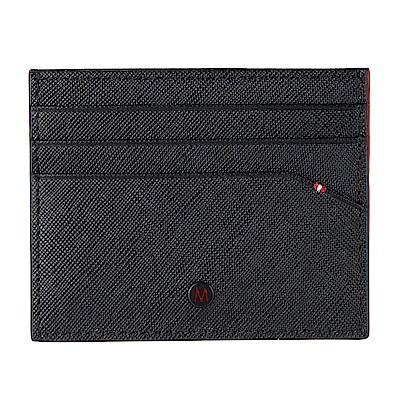 MONDAINE 瑞士國鐵 國徽系列6卡卡夾 – 黑