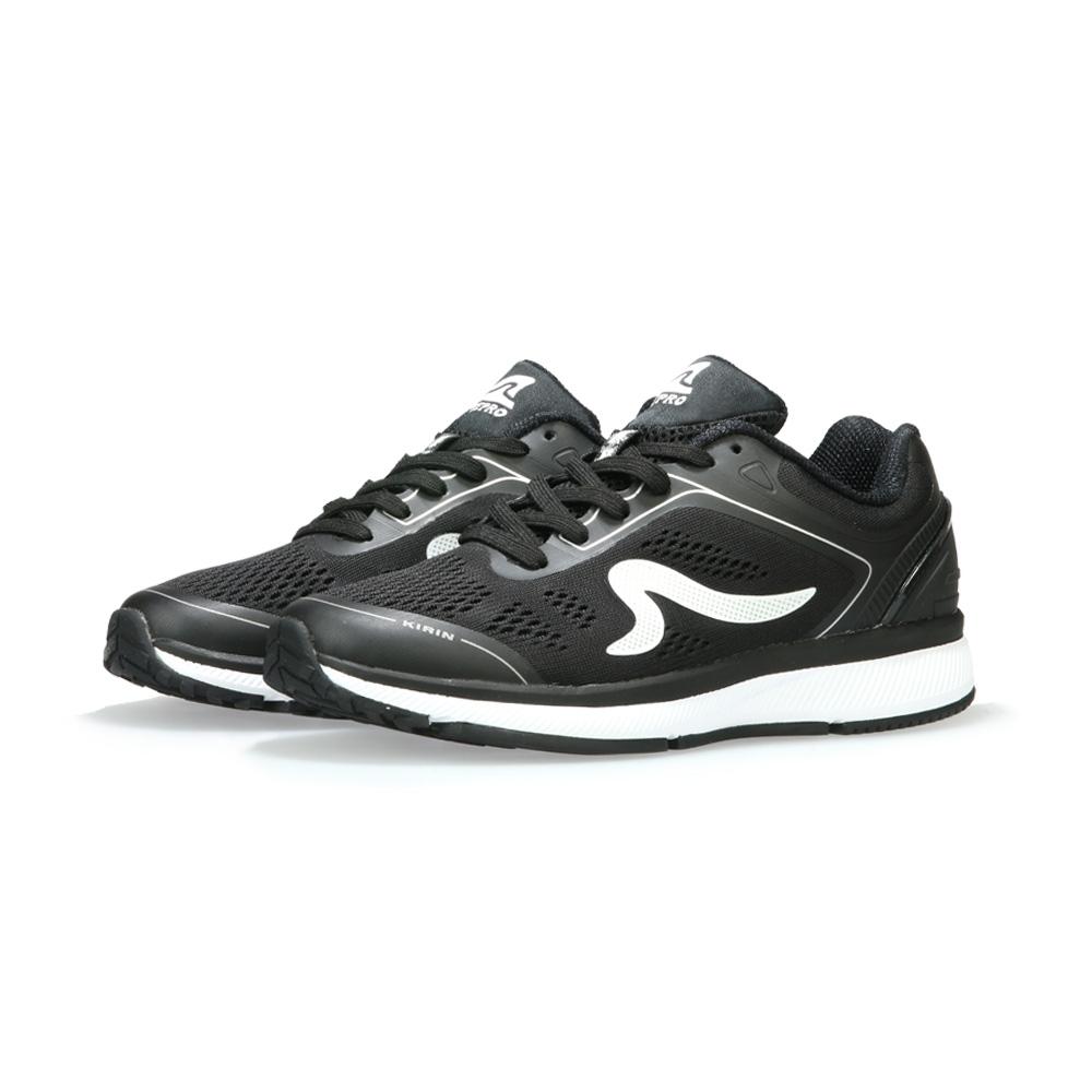 【ZEPRO】男子KIRIN系列減震耐磨運動跑鞋II代-黑武士