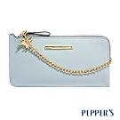PEPPER'S Adela 牛皮手機包 - 冰晶藍