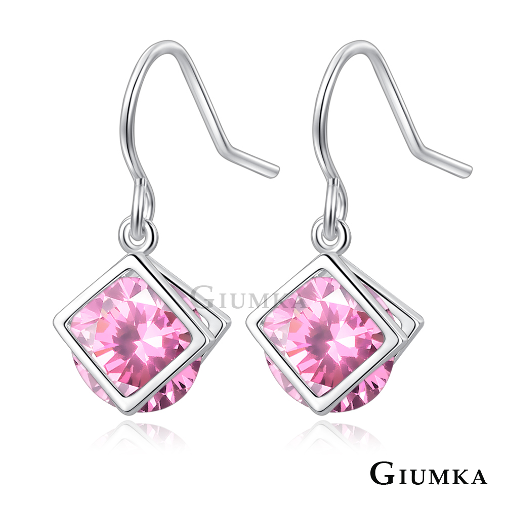 GIUMKA耳環女簡約夾鑽日系甜美風(四款任選)