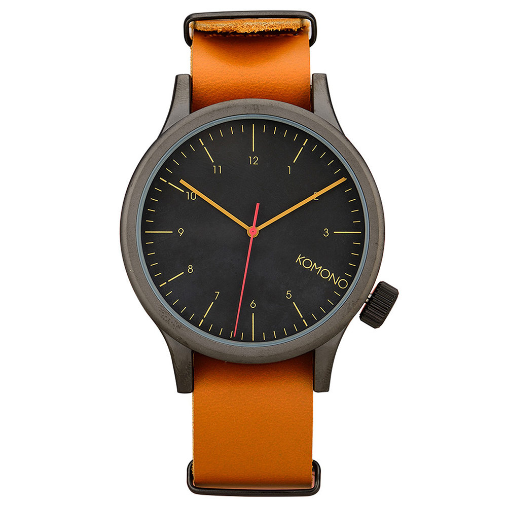 KOMONO Magnus 腕錶-白蘭地/46mm