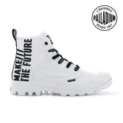 PALLADIUM PAMPA HI FUTURE未來標語軍靴-中性-白