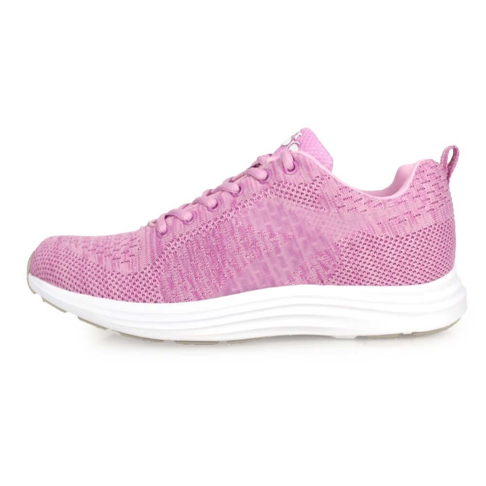 DIADORA 女 進口慢跑鞋 麻花粉紫