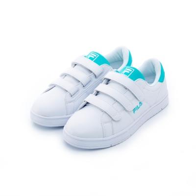 FILA 女潮流復古鞋-水藍 5-C603T-600