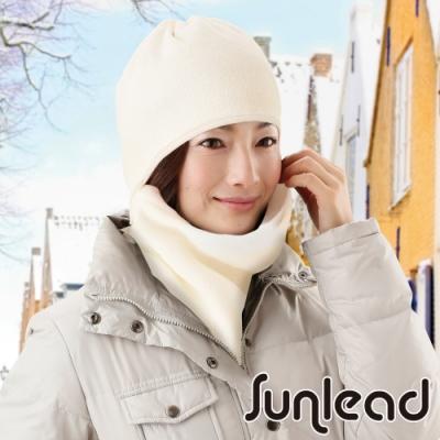 Sunlead 保暖防風吸濕發熱多機能防寒頭套/面罩/脖圍 (米白色)