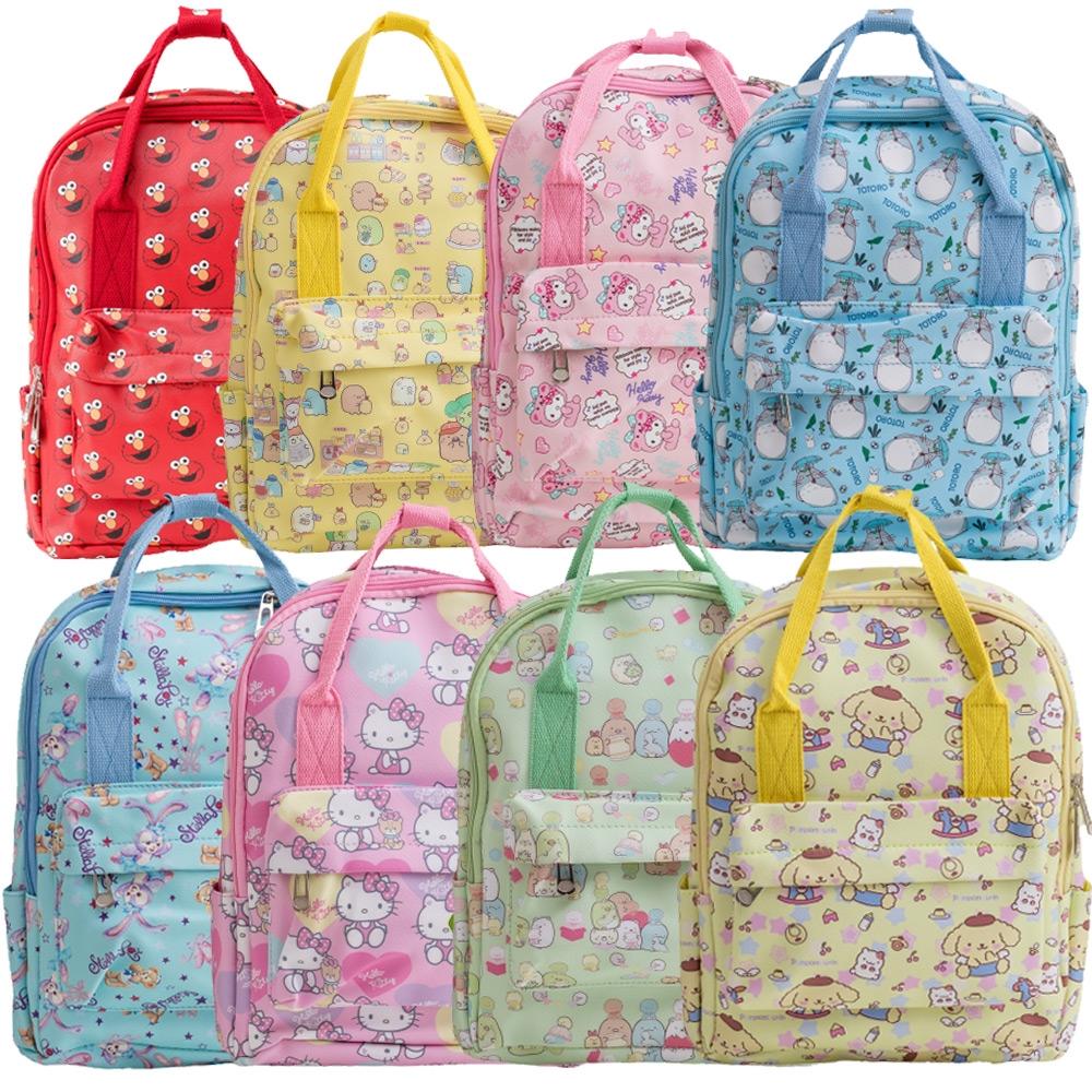 【優貝選】卡通童趣PU防水 幼兒園書包/兒童背包/A4可放