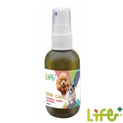 LIFE+虎揚 SKIN CARE 寵物皮膚噴劑 60ml
