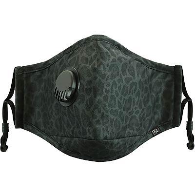 DQ 三層過濾防塵口罩(豹紋黑)