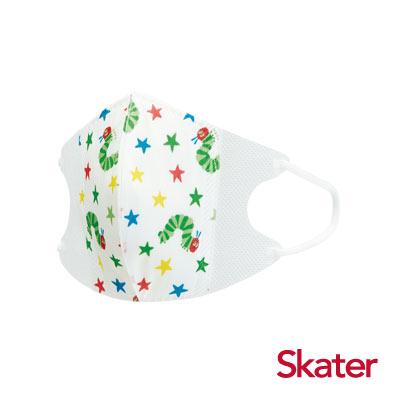 Skater兒童立體口罩-好餓的毛毛蟲(10入/包)共6包